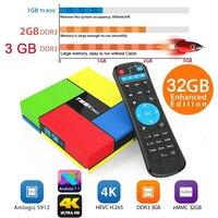T95K PRO Amlogic S912 Android TV Box Octa Core Cortex A53 KODI Dual Band WIFI Bluetooth