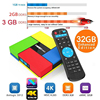 T95K PRO Amlogic S912 Android TV Box Octa Core Cortex A53 KODI Dual Band WIFI Bluetooth
