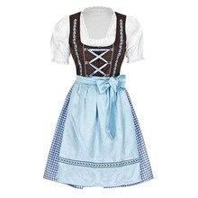 Ladies Oktoberfest Trachten Maid Wench Gretchen Serving Costume