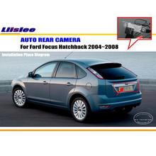 Car Rear View Camera / Back Up Reverse Parking Camera For Ford C-Max 2003~2011 License Plate Lamp / HD CCD Night Vision