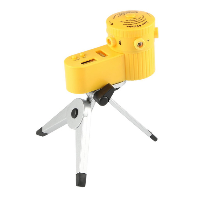 Horizontal Line Tool With Tripod LED Night View FunctionLaser Leveler Point Indicator Level Vertical Cross