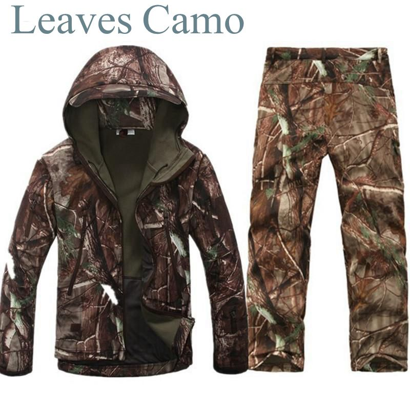 Tad v 4.0 Shark Skin Softshell Outdoors Camping Jacket Tactical Military Camouflage Hunting Jacket Pants tad tactical shark skin children softshell jacket kids army clothes acu camouflage military tactical waterproof jackets