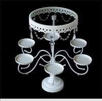 luxury crystal white cake stand/ wedding cupcake liners display /cupcake holder pan / wedding decorations cake tray