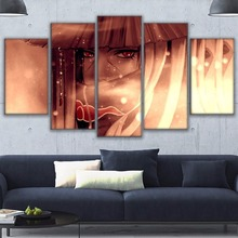 Itachi Uchiha 5 Piece Canvas Wall Art