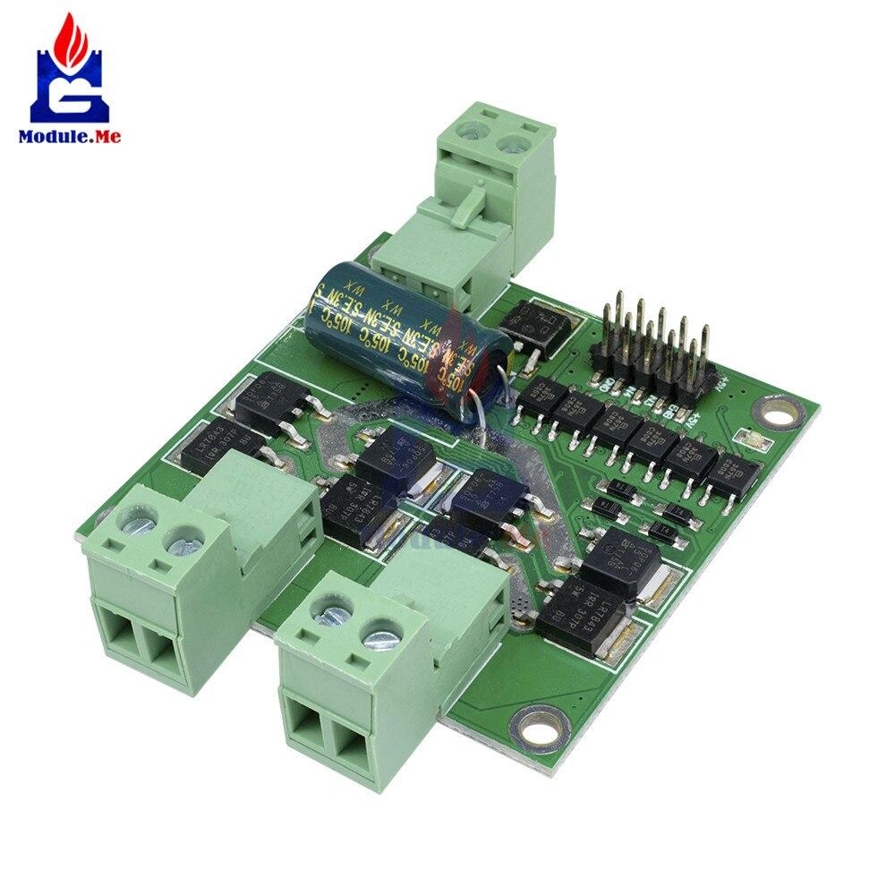 1PC DC 12V 24V 7A 160W Dual Motor Driver Module Board H-bridge L298 Logic