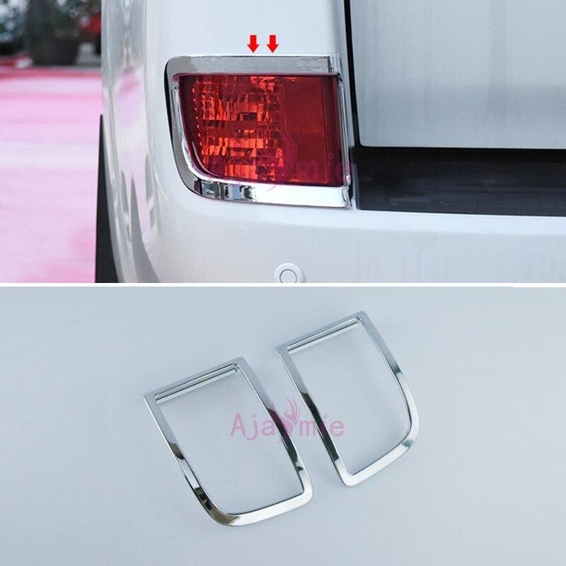 2016-2017 feu arrière Couverture Lumière Superposition Garniture Cadre Panneau Kit Chrome De Voiture-Style Pour Toyota Land Cruiser 200 accessoires