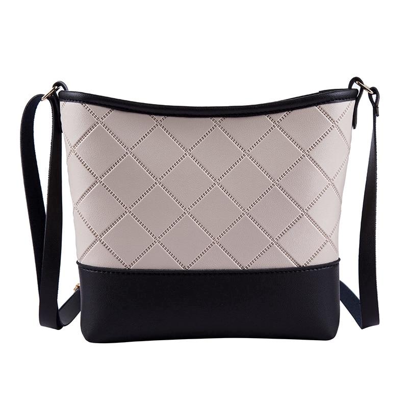 Crossbody Bags For Women 2019 Sling Leather Bucket Shoulder Mini Korean Pu Bag Soft Casual  Soft  Fashion