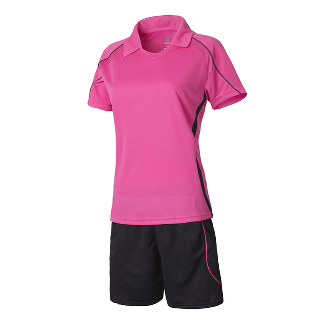 Mujeres conjuntos jersey de fútbol voleibol femenino camisetas de fútbol  entrenamiento traje kits deportivos uniformes DIY 4ece9aa86c1d5