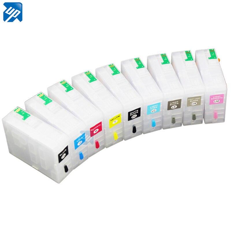 9 stks compatibel lege Hervulbare Inktpatronen/CISS Voor epson 3880 pro3880 met chip-in Inktpatronen van Computer & Kantoor op AliExpress - 11.11_Dubbel 11Vrijgezellendag 1