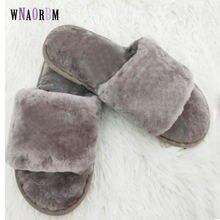 Зимние Модные мужские домашние тапочки теплая обувь из 100%