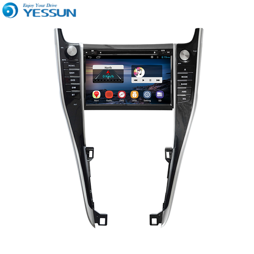 Yessun Android Car Navigation GPS For Toyota Harrier 2000~2017 HD Touch Screen Multimedia Stereo Player Audio Video Radio. yessun for mazda cx 5 2017 2018 android car navigation gps hd touch screen audio video radio stereo multimedia player no cd dvd