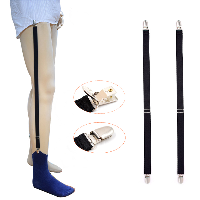 Apparel Accessories Beautiful 1 Pair New Male Shirt Garters Mans Shirt Stays Holder Leg Suspenders Adjustable Elastic Shirt Braces Gourd Buckle Shirt Garters Moderate Cost