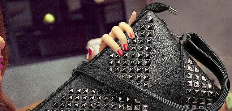 HTB1eb87JVXXXXaIXVXXq6xXFXXXc - Hot Fashion Black Rivet V Glitter Shine Women Leather Handbags-Hot Fashion Black Rivet V Glitter Shine Women Leather Handbags