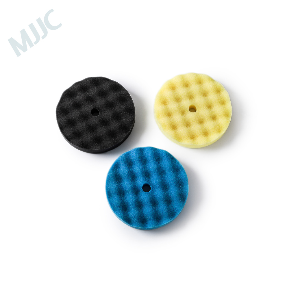 MJJC car polishing pad foam buffing pads for car detailing products 3 kit