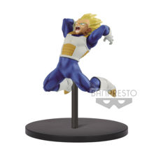 Tronzo Original Banpresto Vegeta Dragon Ball Super Eien não Koutekishu SSJ PVC Action Figure Modelo Brinquedos DBZ Vegeta Figural Jouets(China)