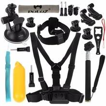 цены на Action Camera Accessories Set 20 in 1 Gopro Accessories Kit Mounts Chest Belt Head Strap for GoPro HERO4 Session / 4/3 + / 3/2/1  в интернет-магазинах
