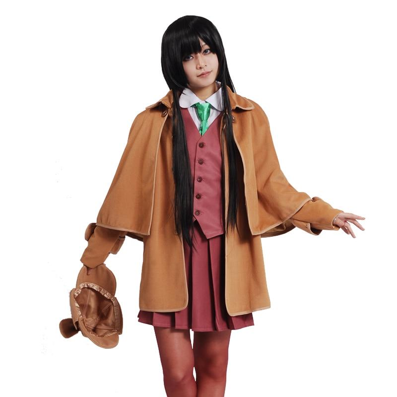 Hyouka Chitanda Eru Imitate Sherlock Holmes Cosplay Costume