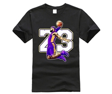 For Man New T Shirt S-6XL Big Size The King In Purple And Gold LeBron lakers Stylish Tee Cheap T-Shirt