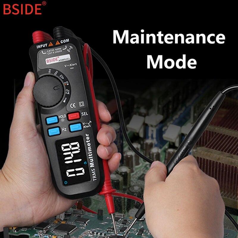 Multifunction multímetro digital bside adm92cl cor display