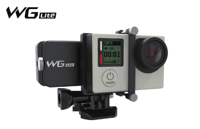Feiyu Wearable Gimbal Affordable FY-WG Lite Single Axis Gimbal Stabilizer for Gopro 3 3+ 4 Camera feiyu tech fy wg lite single axis wearable camera gimbal