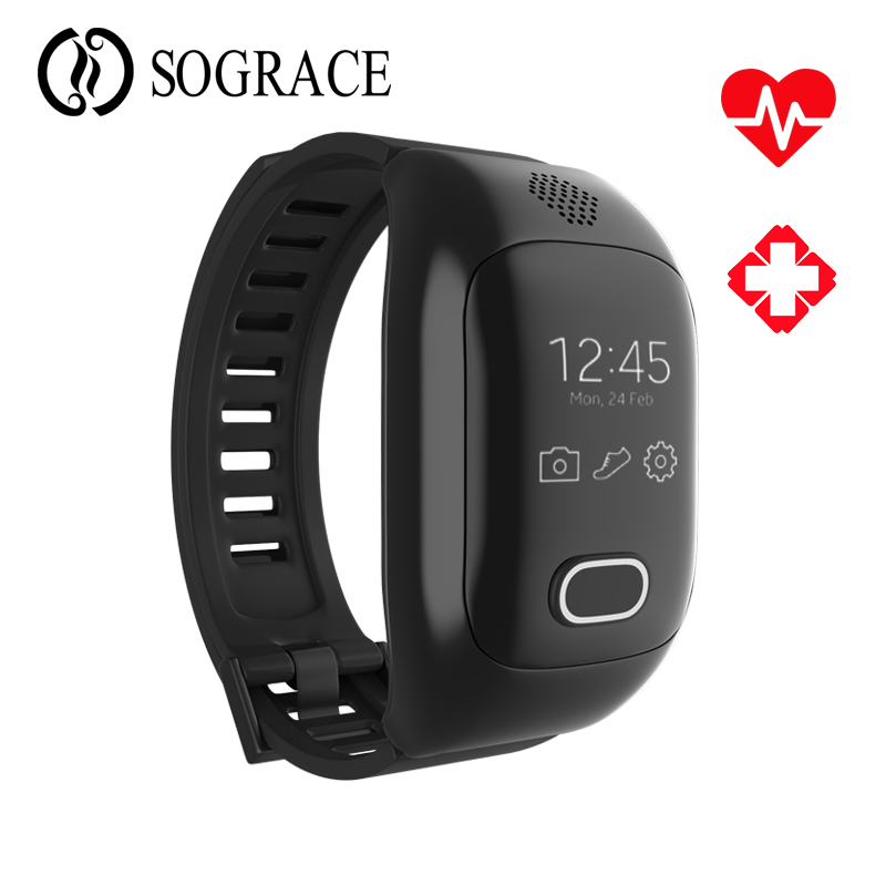 Elderly Child Smart Bracelet Talk Band Support S0S GPS LBS WIFI Heart Rate Blood Pressure Detection Fitness Tracker Smart Band аксессуар детский трекер gps lineable smart band size m pink rwl 100pkmd