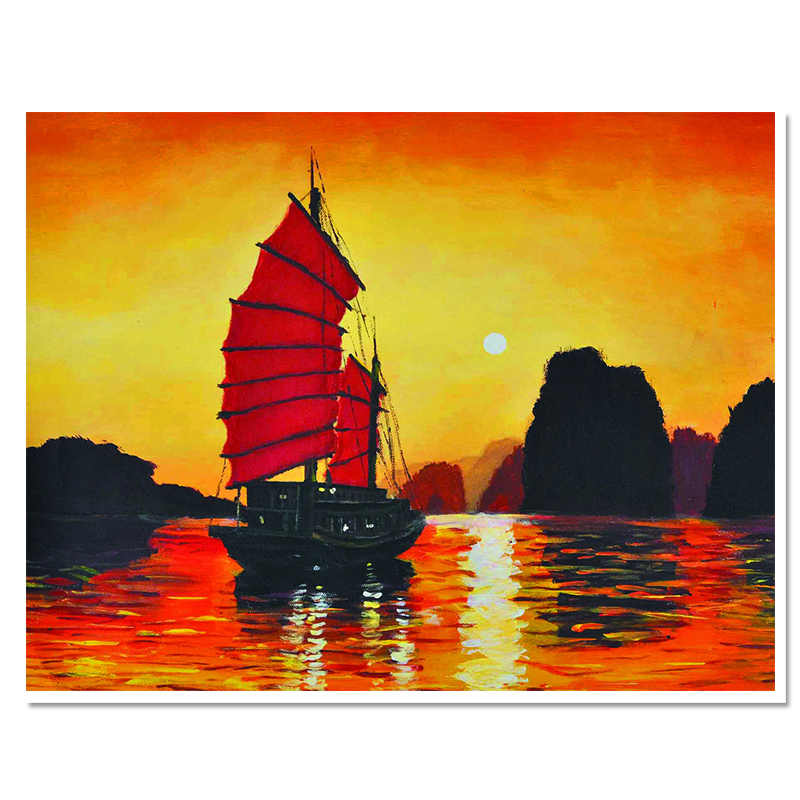 direct selling 2017 diamond embroidery europe resin Paintings scenic full square handmade fashion home decoration