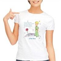New T Áo Sơ Mi Cartoon The Little Hoàng Tử T-Shirt Harajuku Phong Cách Mùa Hè Tops Tee Shirt For Phụ Nữ Châu Á kích thước S-3XL