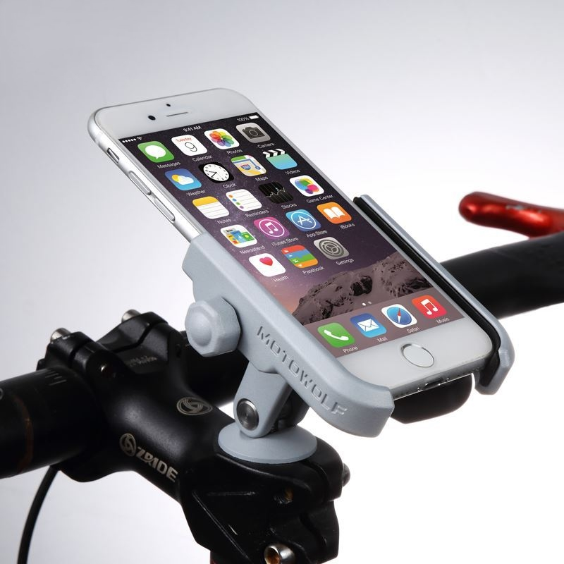 BuzzLee Universal Bicycle Bike Phone Holder Motorcycle Aluminum Alloy Phone Holder For IPhone X Xs Max For Galaxy Note 9 S9 GPS