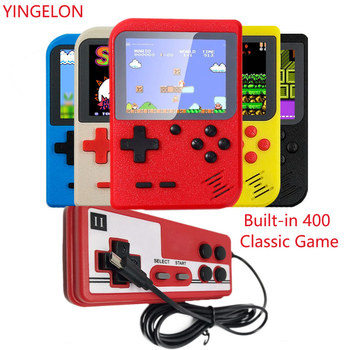 Built-in 400 Game Boy Toys Retro Portable Mini Handheld Video Game Console 8-bit 3 With Gamepad for Children Game Player