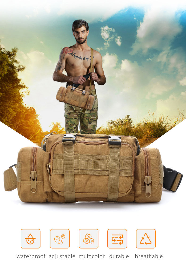 HTB1ebA1wS8YBeNkSnb4q6yevFXa9 - Outdoor Military Tactical Waist Bag Waterproof Nylon Camping Hiking Backpack Pouch Hand Bag military bolsa Style mochila