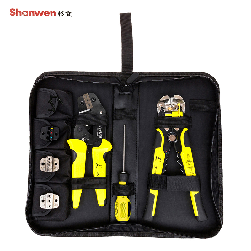 Wire Cutter 4 in 1 Multi Tools Wire Stripping Terminal Pliers Clamp Tool Set With Screwdriver Professional Instrument