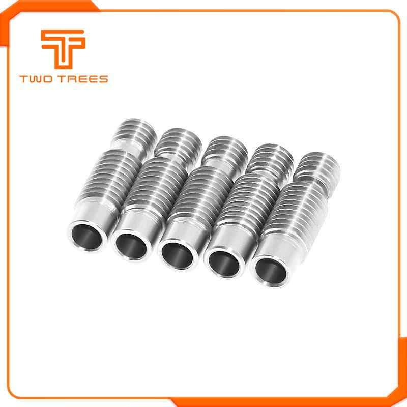 Fil de Tube de Bowden de gorge de l'acier inoxydable V6 Long pour les imprimantes 3D de Filament de 1.75mm 3mm partie complètement l'alésage de pièce en métal 4.1mm
