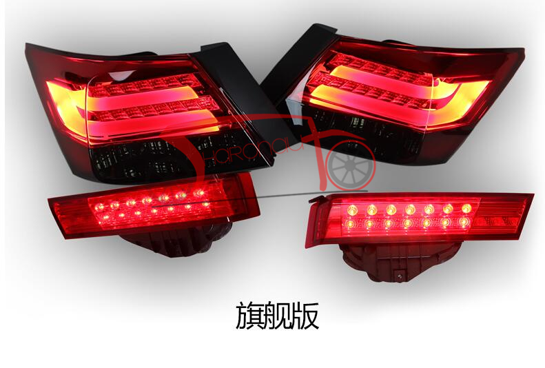 Светодиодные задние фонари для седана Accord 4-дверный 2008-2013 задний свет