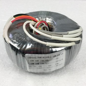 15V 4A 15V 4A Toroidal transformer copper custom 120VA transformer 115-230VAC transformer for pre-amplifier board
