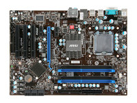 MSI P43 C51 original motherboard LGA 775 DDR3 16GB USB2.0 P43 desktop motherboard free shipping