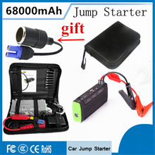 2017 High Quality 68000mAh Car Jump Starter Mini Power Bank Portable 12V Starting Device 400A Car Battery Charger Booster Buster