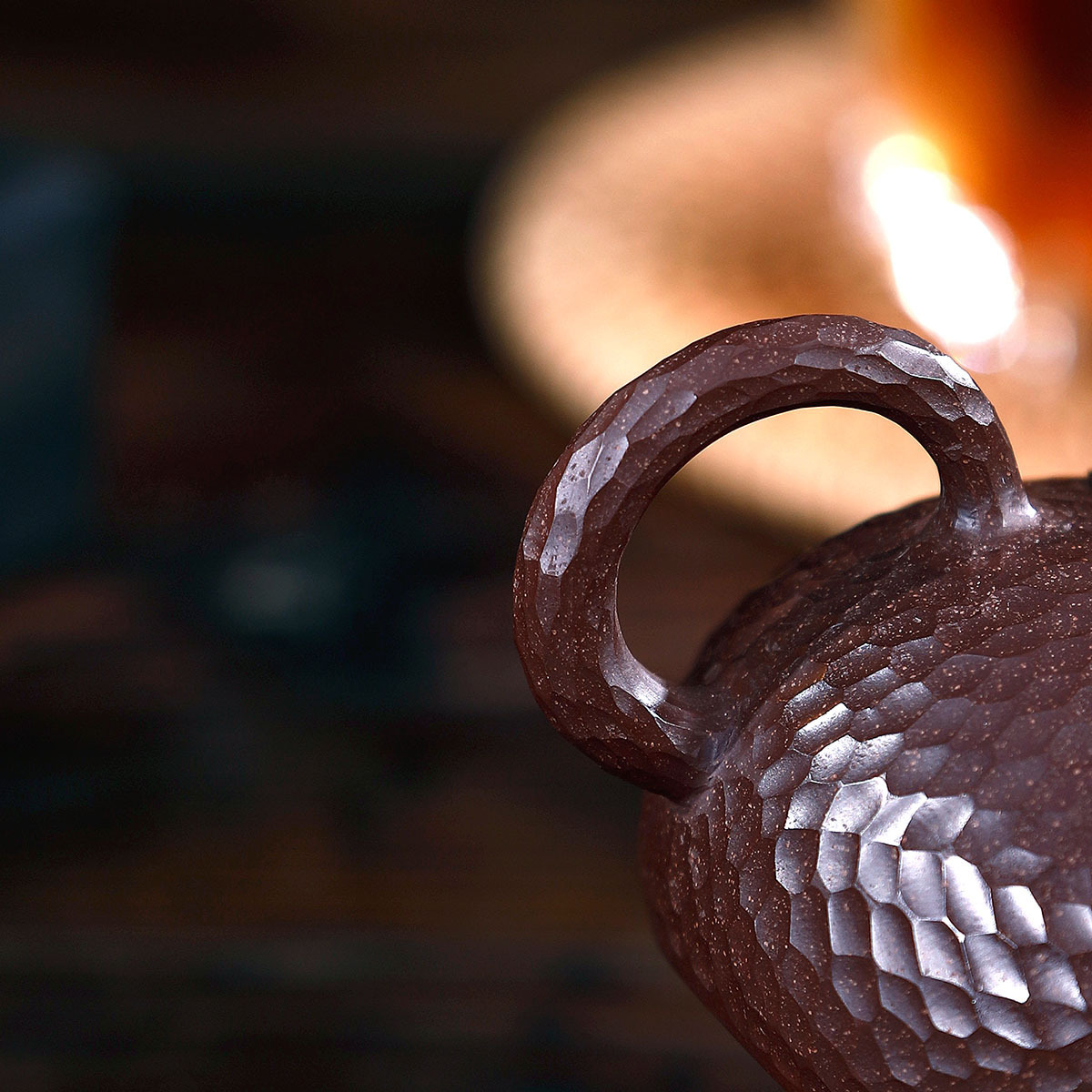 Modèle manuel de marteau de minerai brut de boue pourpre et rouge Xi Shi bouilloire Kungfu théière en ligne ensemble de thé Infusion domestique de costume de thé - 4