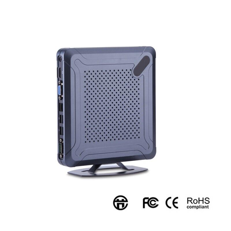 Ordinateur de jeu Windows 10 I7 Intel Rs232 COM Mini Pc Portable Ddr3 Intel X86 64 bits