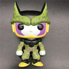 цены Pops Vinyl Figure Animation Dragonball - Perfect Cell model toy cartoon figurine Vinyl Action Collectible Model Toy
