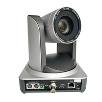 1080p 60fps 20x optical zoom motorized head video ptz broadcast cam ip 3g sdi HDMI output silver color