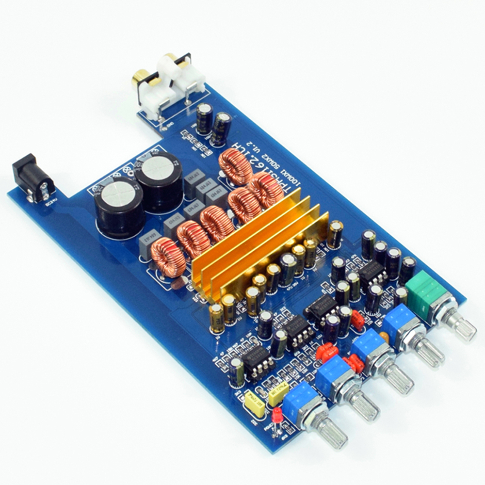 MINI HIFI AUDIO Class D TPA3116 2,1 Power verstärker bord NE5532 2*50W + 100W