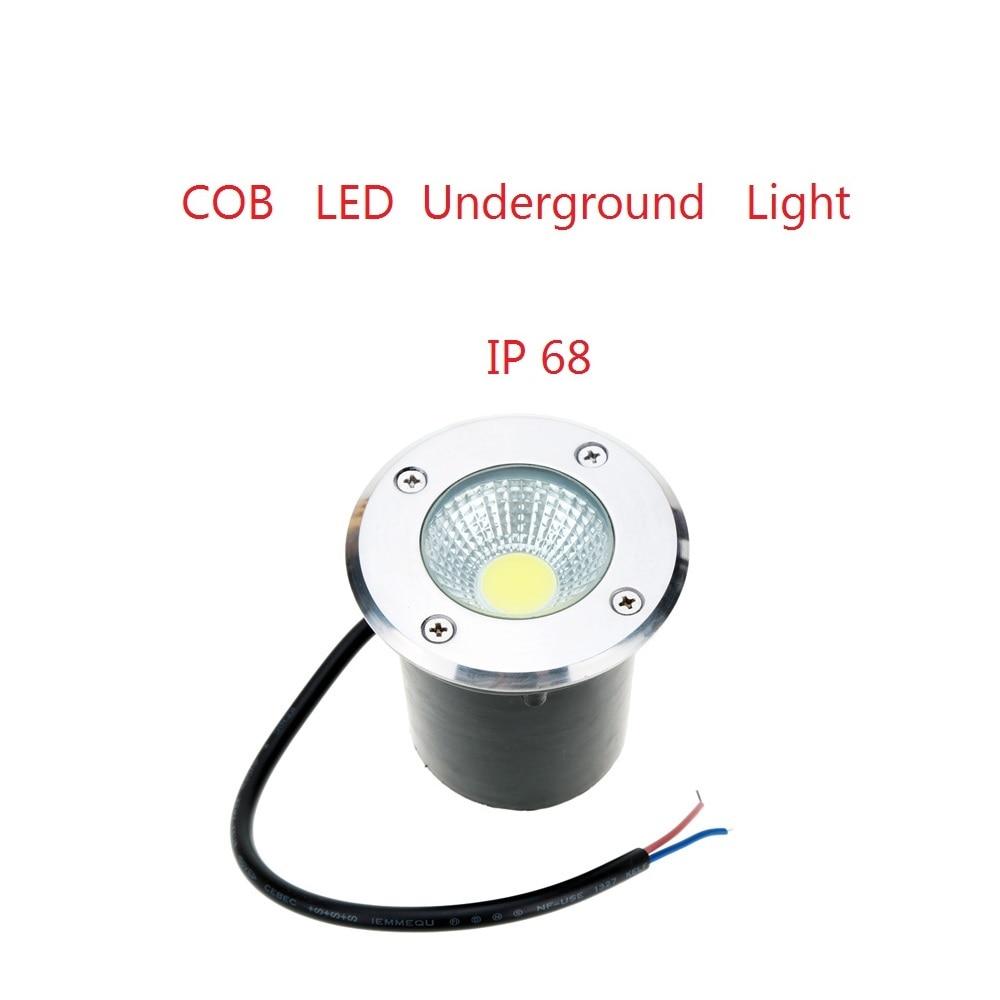 Frank Dc12v Led Buried Lamps Underground Lights 5w Ip65 Recessed Floor Outdoor Lamp Cob Garden Lighting Yard Red Green Blue Lights & Lighting