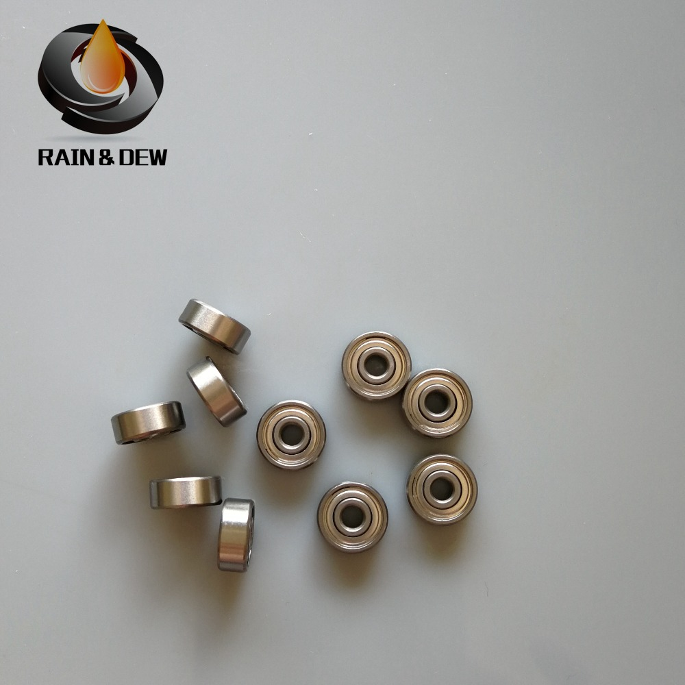 - 440C Stainless Steel Radial Ball Bearing 1 pc 4x11x4mm ABEC-7 SMR694 ZZ