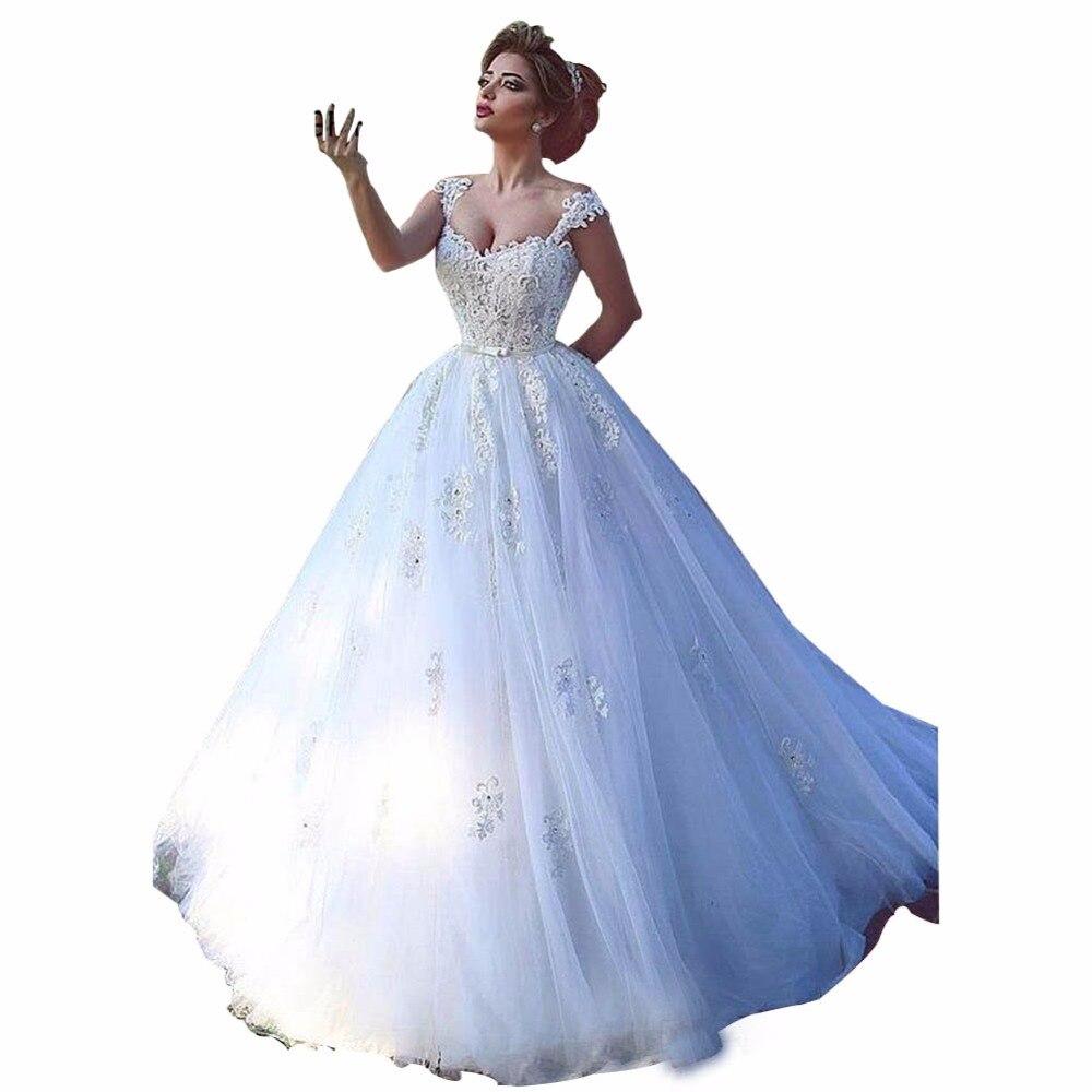 Wedding Gowns For Outdoor Weddings: ZYLLGF Bridal Saudi Arabia Robe De Marriage Imported
