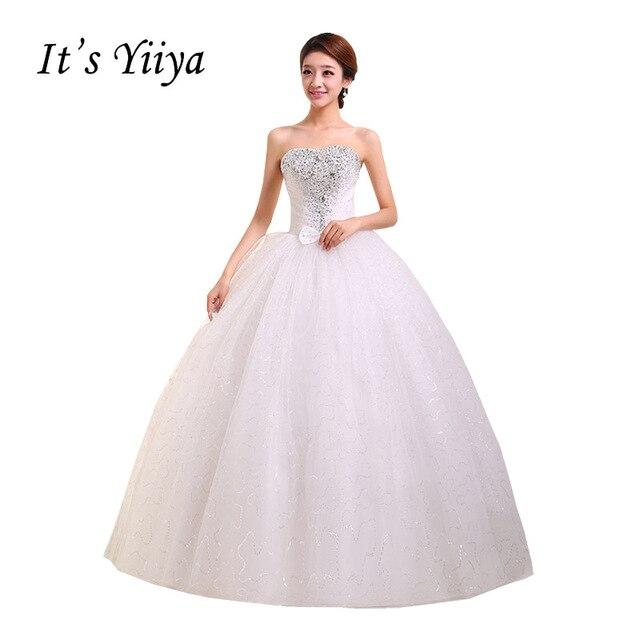 6c2d773a82 Envío Gratis Nuevo 2017 blanco rojo princesa De moda Vestidos De Novia De  tul-boda