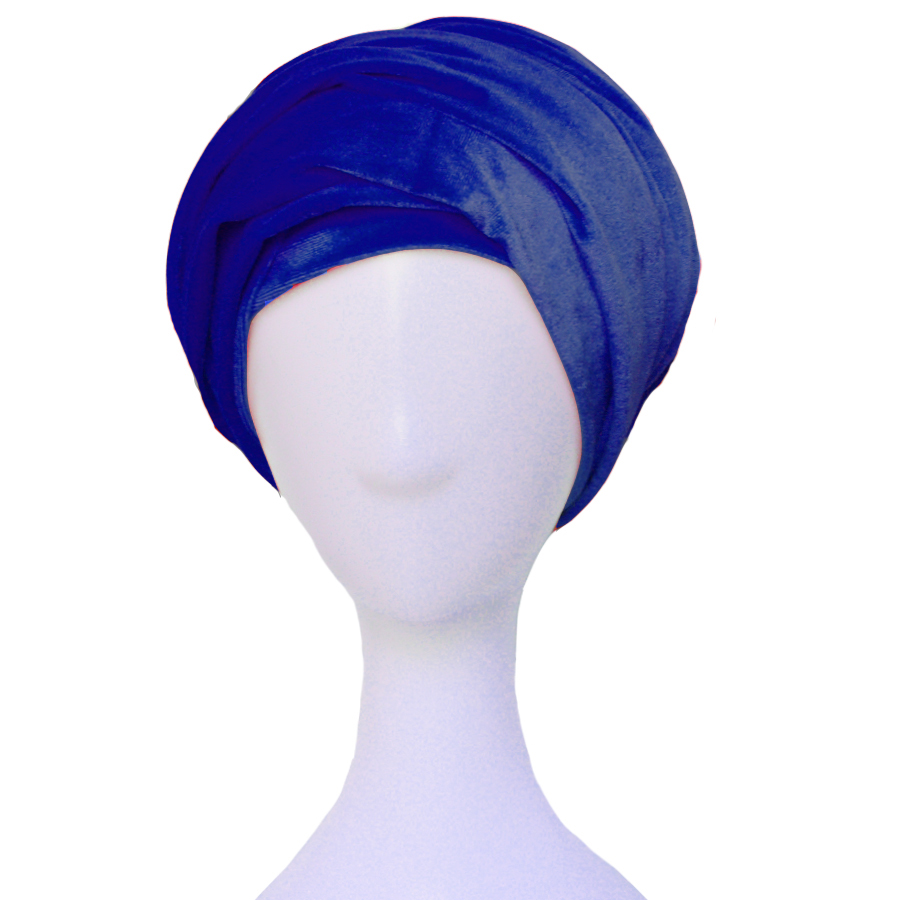 Velvet Headwrap Women Earwarmers Scrunchy Twist Hair Band Turban Bandana Bandage hijab Head Wrap Extra Long tube Scarf Tie India