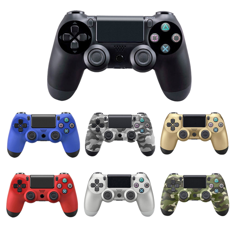 Bluetooth Sem Fio Controlador de Joystick para PS4 Apto Para PlayStation Console Para Playstation Dualshock Gamepad Para PS3 4 4 Console