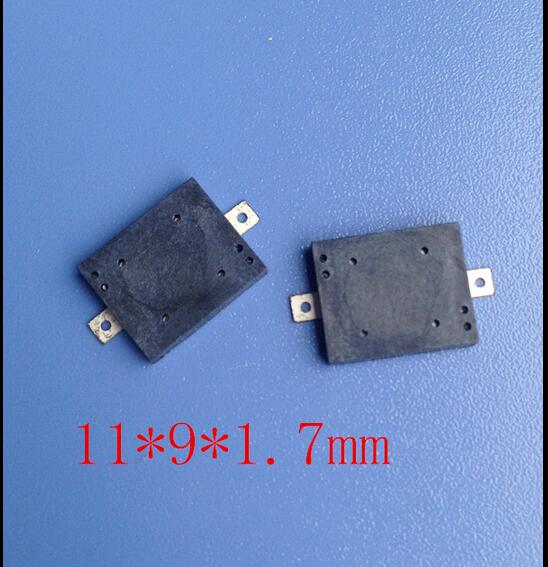 1109 Piezoelectric Type SMD Passive Buzzer 11*9*1.7mm-in