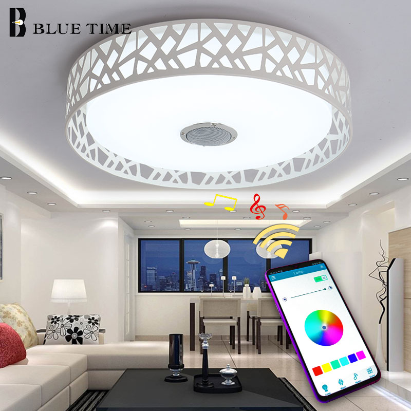 Multiple Colors Modern Led Chandelier D43cm Acrylic Ceiling Mounted Chandelier Lighting For Living room Bedroom Dining room LampMultiple Colors Modern Led Chandelier D43cm Acrylic Ceiling Mounted Chandelier Lighting For Living room Bedroom Dining room Lamp