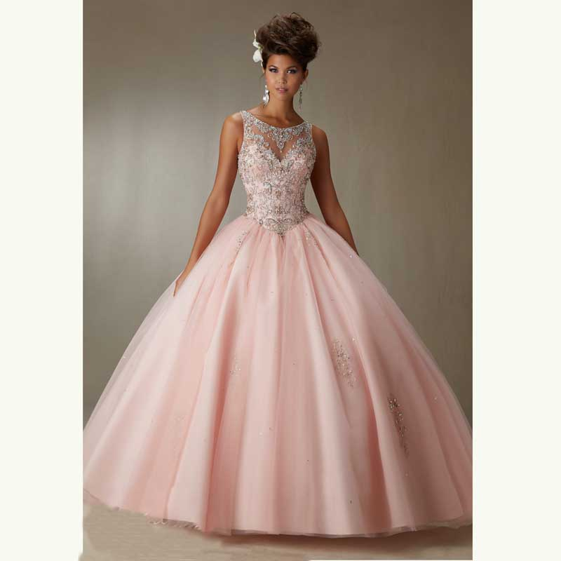 Compare Prices on Prom Dresses Light Pink Ball Gown- Online ...